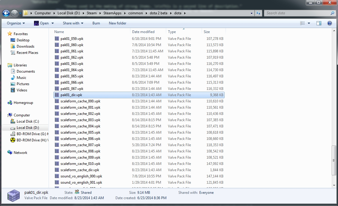 tutorial how to extract all the default dota 2 files the helper